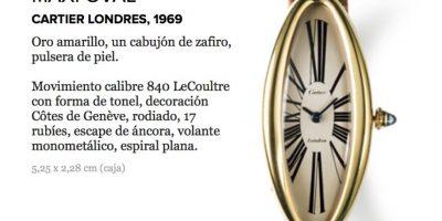 Cartier es una relojera especializada en los diseños artísticos. Foto:cartier.mx