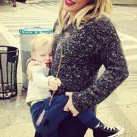 Hilary ahora es madre del pequeño Luca Foto:Instagram @hilaryduff
