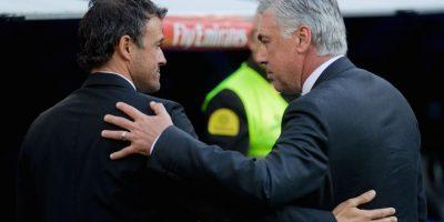 También será un duelo de estrategias entre Luis Enrique y Carlo Ancelotti. Foto:Getty Images