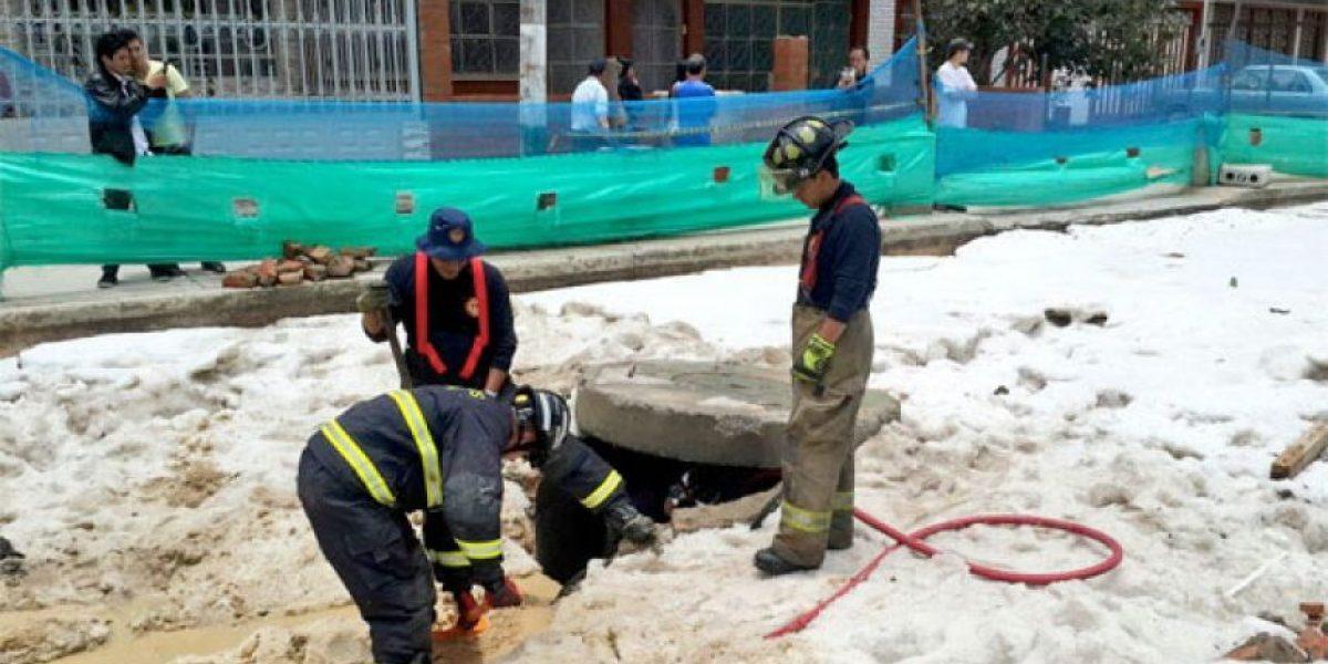 37 lesionados y 150 viviendas averiadas dejó la granizada en Bogotá
