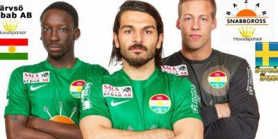 El Dalkurd FF Borlänge es un equipo que milita en la Tercera División de Suecia. Foto:Facebook Dalkurd Supporter