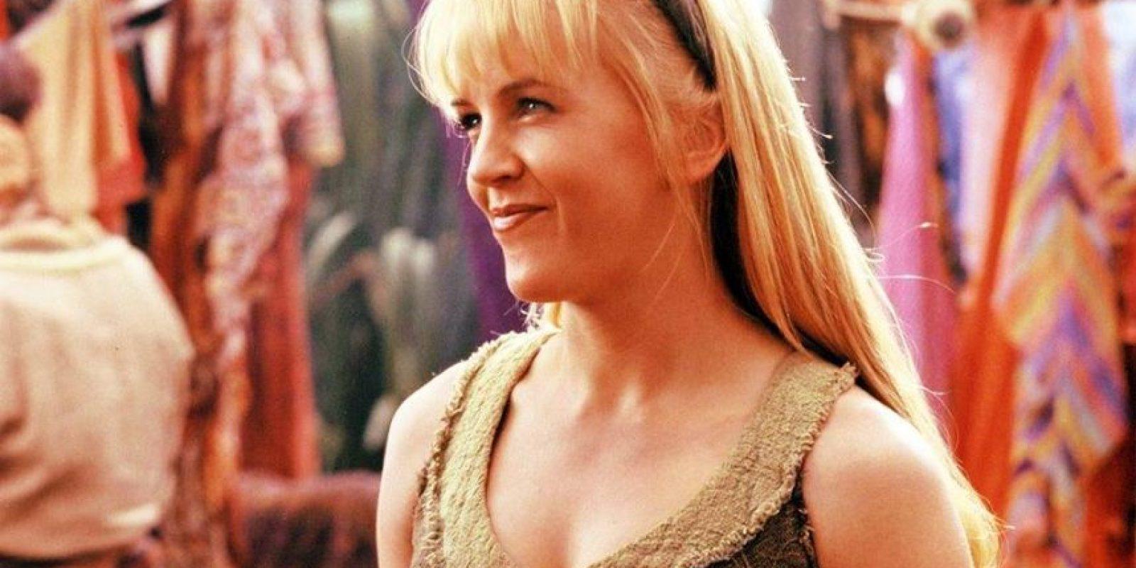 """Conforme avanza la historia, """"Gabrielle"""" se convierte en una guerrera. Foto:Facebook/ Renée O'Connor"""