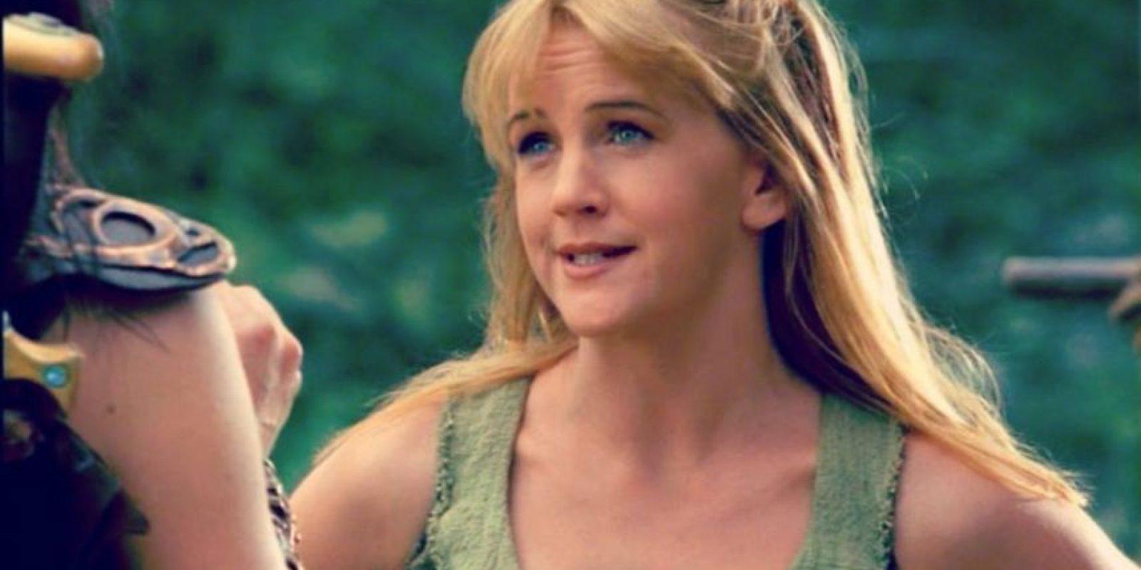 "Interpretó a ""Gabrielle"", una campesina que acompaña a ""Xena"" en sus hazañas. Foto:Facebook/ Renée O'Connor"