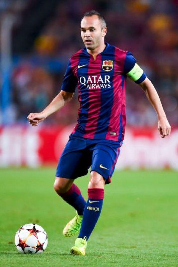 Medios: Andrés Iniesta (España) Foto:Getty Images