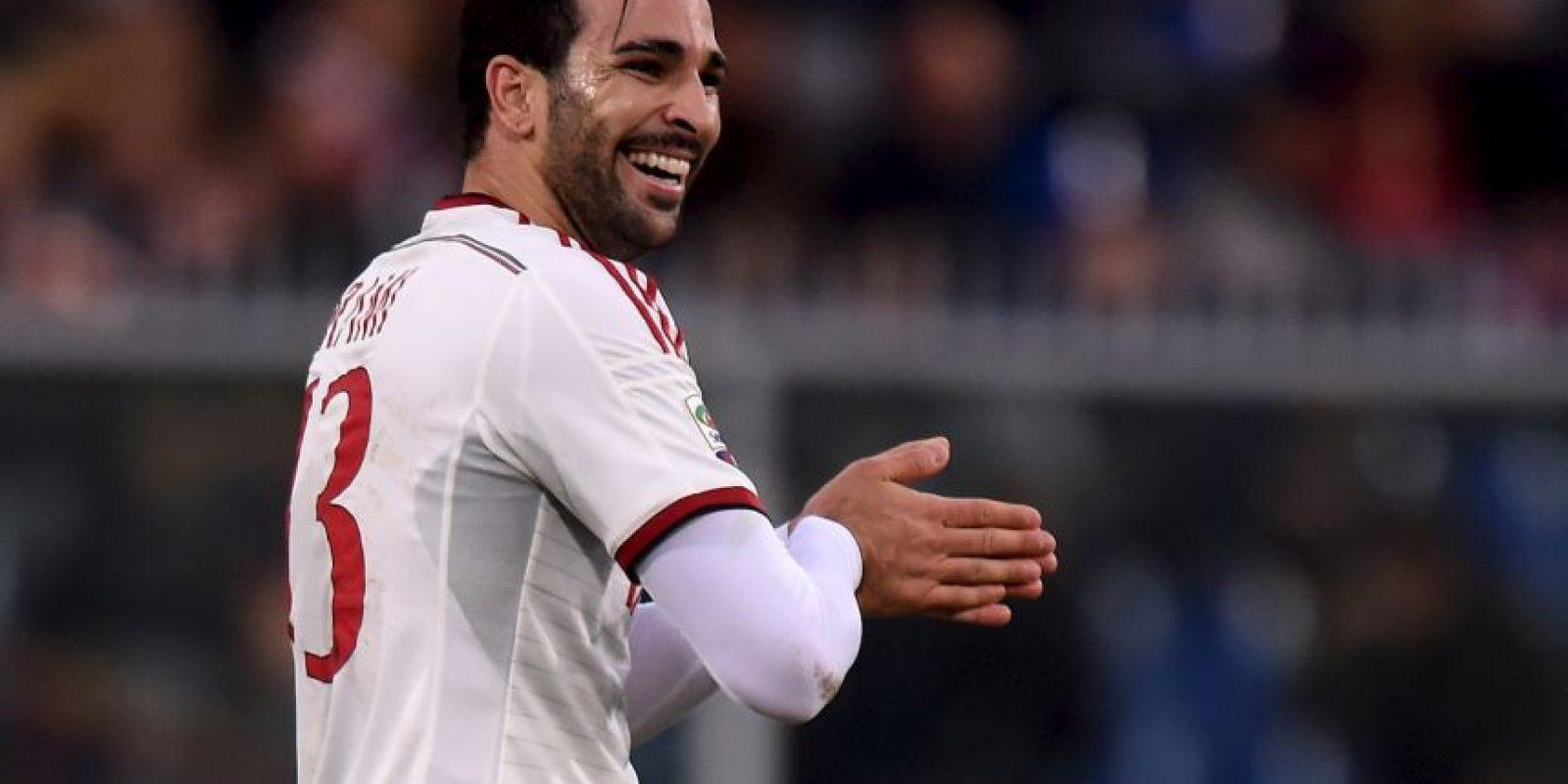 Adil Rami pertenece al Milán Foto:Getty Images