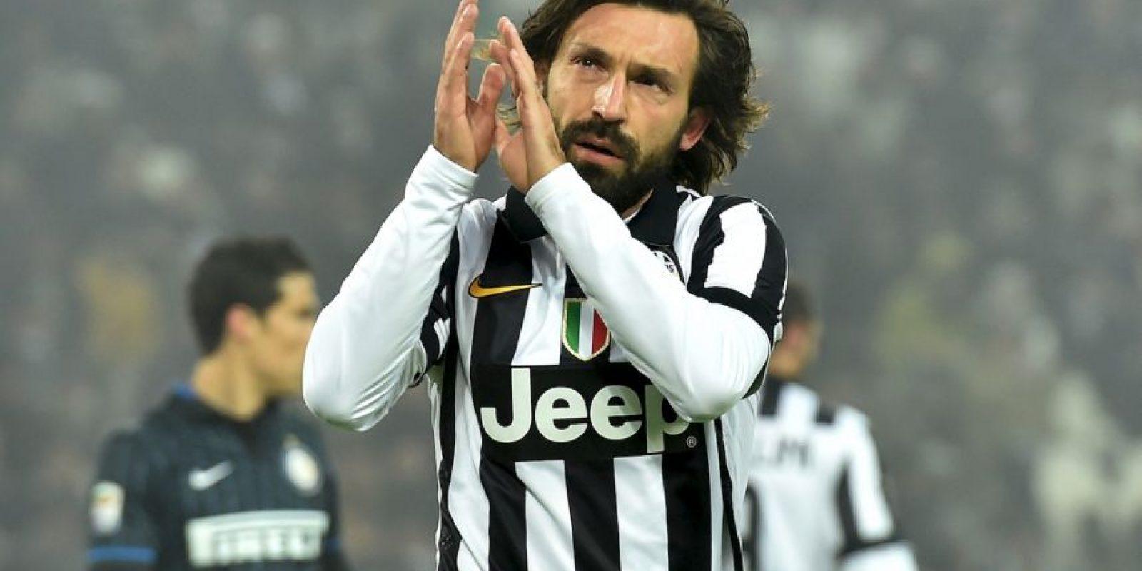 Medios: Andrea Pirlo (Italia) Foto:Getty Images