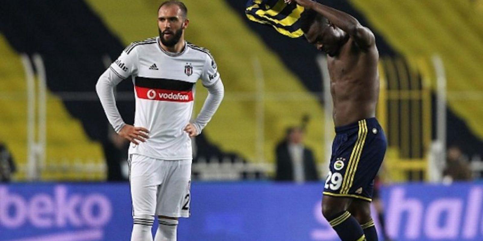 El nigeriano pidió su cambio, pero el entrenador no aceptó. Foto:Getty Images