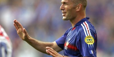 Medios: Zinedine Zidane (Francia) Foto:Getty Images