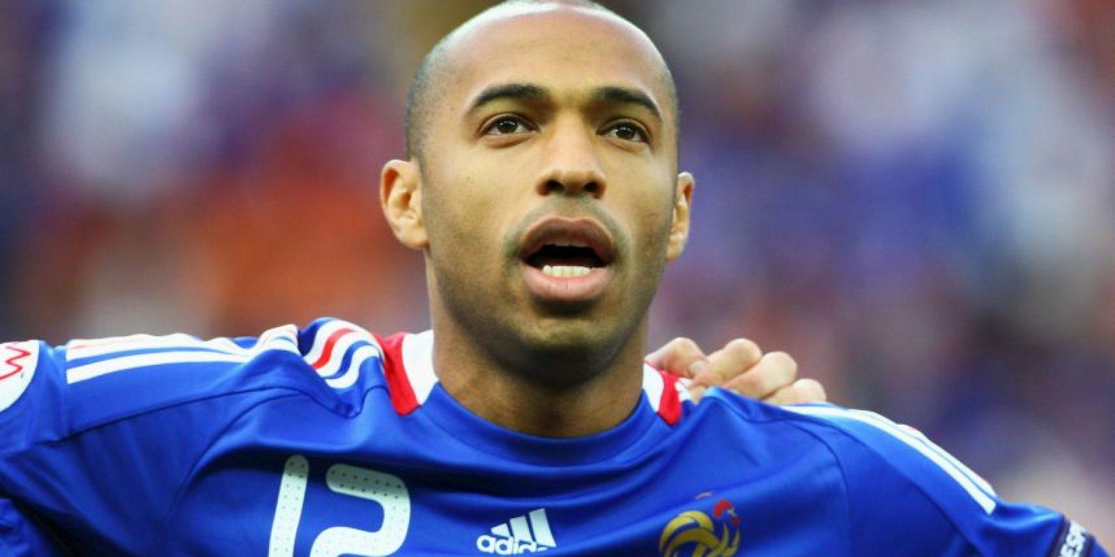 También fue seleccionado nacional de Francia, del cual es el máximo anotador. Fue campeón del mundo en 1998 y también disputó los Mundiales de 2002, 2006 y 2010. Foto:Getty Images