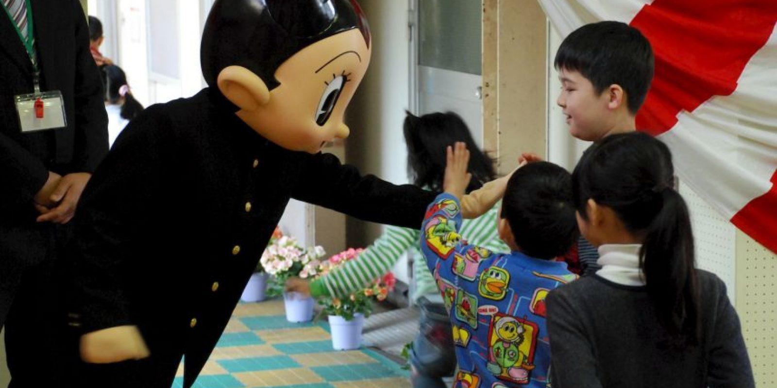 """Creado por el """"dios del manga"""", Osamu Tezuka, Astroboy se convirtió en un manga y anime de culto en todo el mundo. Foto:Getty"""
