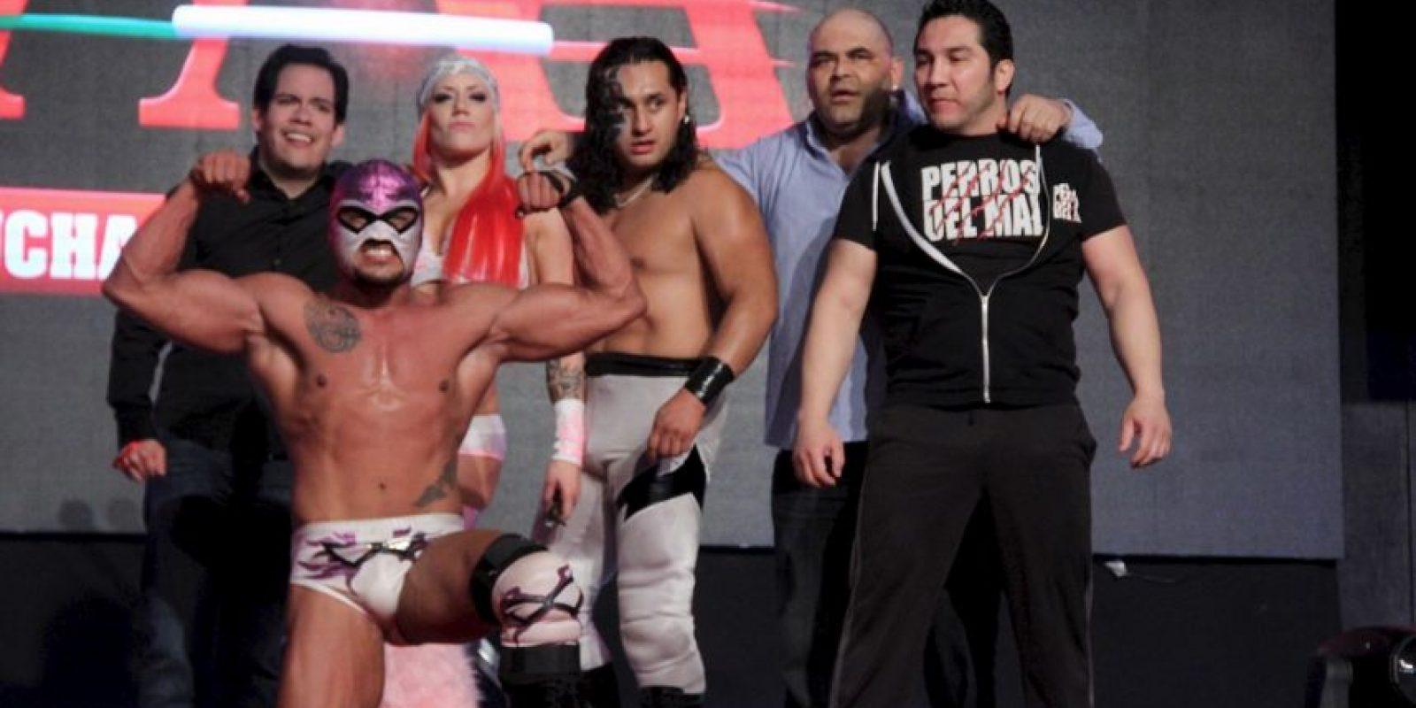 """Era el líder del grupo llamado """"Perros del Mal"""" Foto:Lucha Libre AAA"""