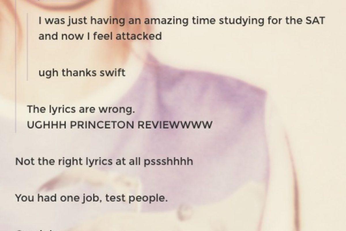 Fan envió mensaje a la cantante a través de Tumblr Foto:Vía Tumblr