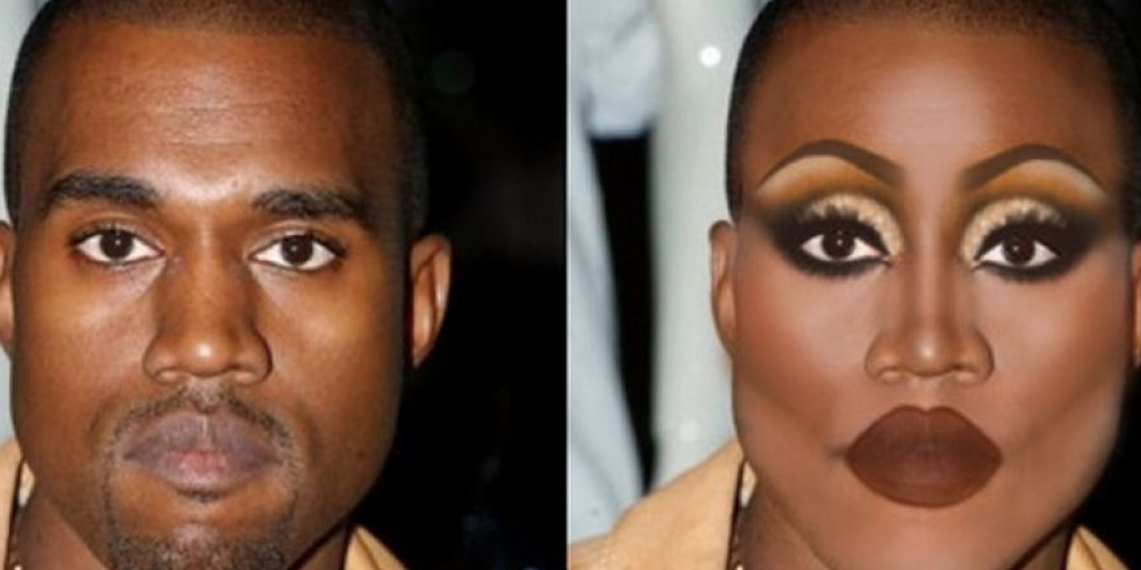 Kanye West Foto:celebritiesasdragqueens.tumblr