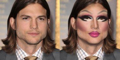 Ashton Kutcher Foto:celebritiesasdragqueens.tumblr