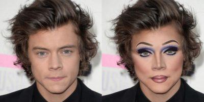 Harry Styles Foto:celebritiesasdragqueens.tumblr