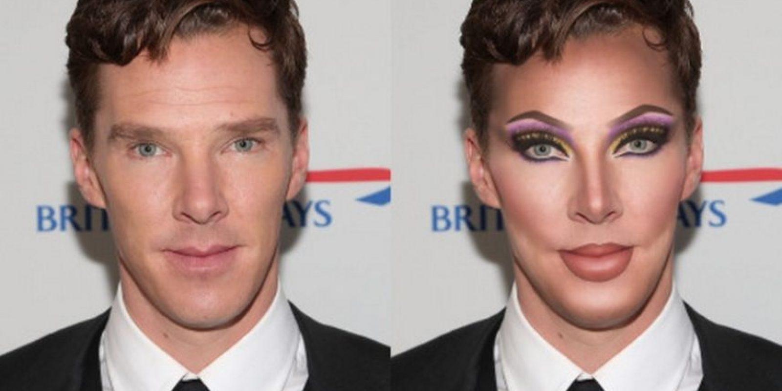 Benedict Cumberbatch Foto:celebritiesasdragqueens.tumblr