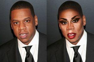 Jay Z Foto:celebritiesasdragqueens.tumblr