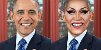 Barack Obama Foto:celebritiesasdragqueens.tumblr
