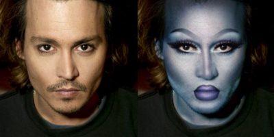 Johnny Depp Foto:celebritiesasdragqueens.tumblr