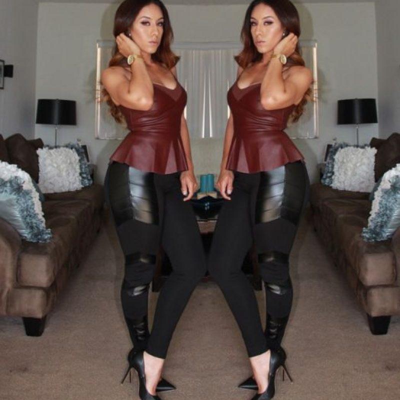 Ahora las mujeres que compren por Internet pueden acceder a todo tipo de leggings y en la talla que quieran. Foto:Pinterest