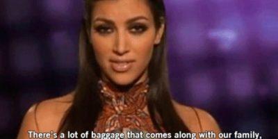 """14. """"Hay un montón de cosas que vienen con nuestra familia. Pero nada como las que envuelve un Louis Vuitton"""", dice Kim. Foto:E!"""