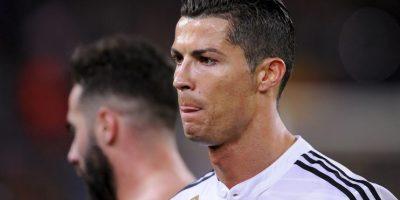 """El portugués anotó el único tanto del Real Madrid esa noche y lo festejó haciendo un gesto que """"invitaba"""" a los seguidores del Barça a calmarse. Foto:AP"""