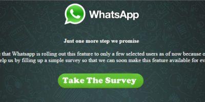 Foto:whatsapp-scam