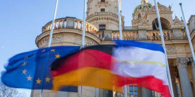 Francia, Alemania y España son algunos países europeos que guardaron luto Foto:AFP