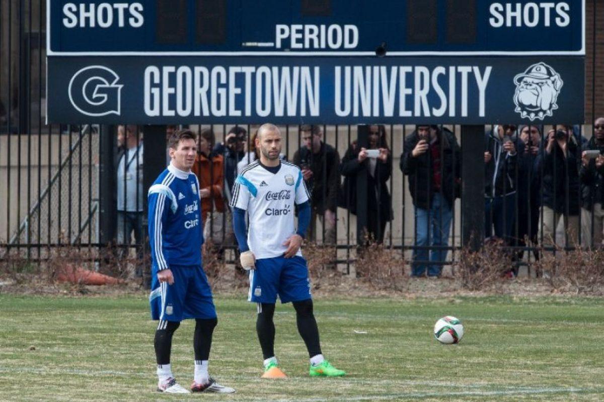 Nunca antes la Universidad de Georgetown había experimentado tanta locura Foto:Getty Images