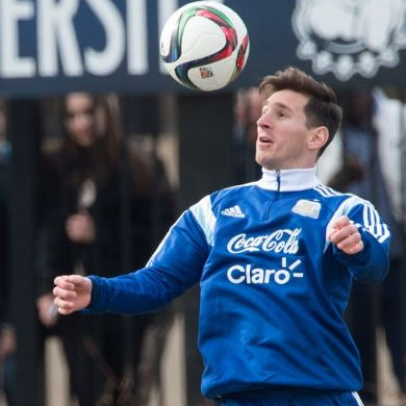 Messi y la Albiceleste entrenan en la Universidad de Georgetown de cara a su duelo contra El Salvador Foto:Getty Images