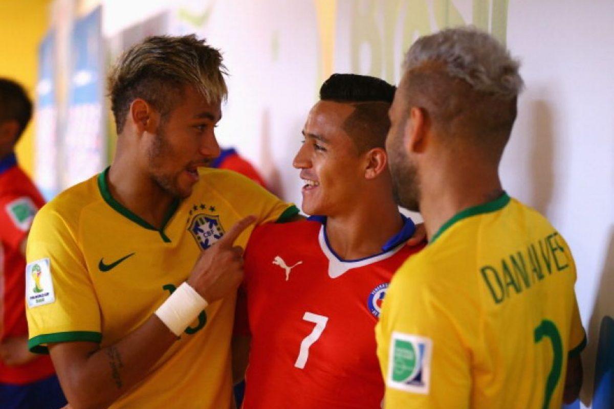 En este partido, Brasil tuvo que llegar hasta los penales para dejar fuera a la escuadra andina que se quedó con ganas de revancha. Foto:Getty Images