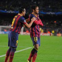 Alexis y Neymar fueron compañeros en el Barcelona en la temporada 2013-2014. Foto:Getty Images