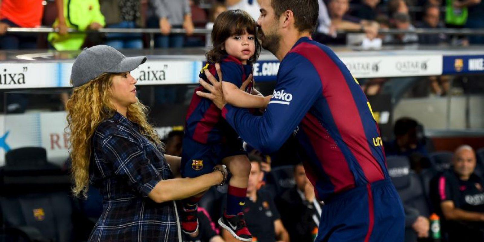 Es pareja de la cantante colombiana Shakira. Foto:Getty Images