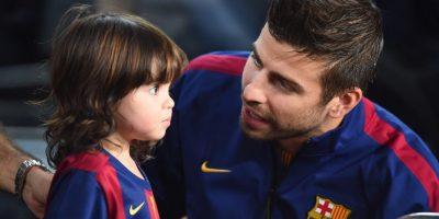 Con ella tiene dos hijos, Milán y Sasha. Foto:Getty Images