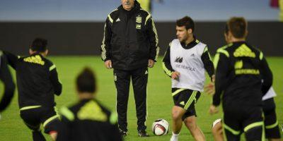 """Debido a un supuesto """"robo"""" por no llamar a jugadores del Valencia Foto:Getty Images"""