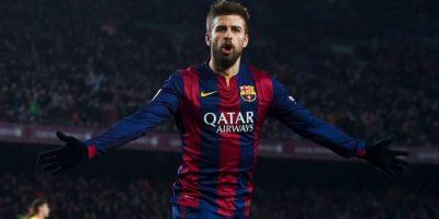 Gerard Piqué es un futbolista español que juega como defensa central. Foto:Getty Images