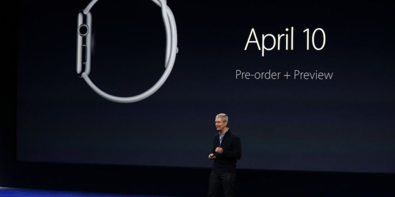Apple Watch comenzará a venderse el próximo 10 de abril. Foto: Getty Images