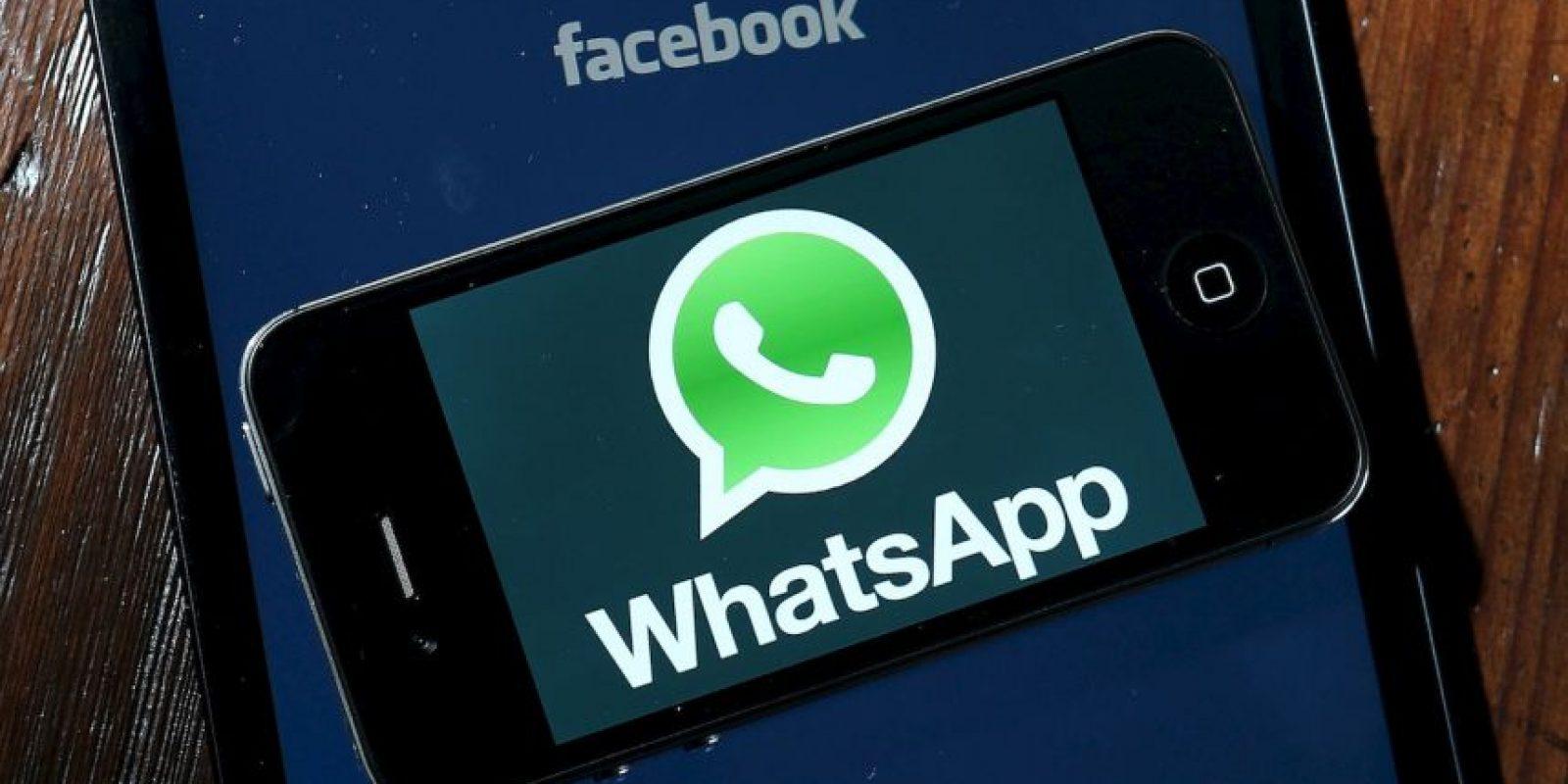 WhatsApp se alía con Google para función de almacenamiento en la nube Foto:Getty