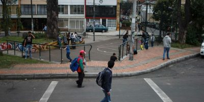 Este es el tradicional Cuatro Parques. Foto:Juan Pablo Pino-Publimetro