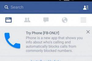 Otro ejemplo es lo que descubrimos por un botón de bloqueo de llamada, el cual hace pensar en que pronto tendremos llamadas vía Facebook. Foto:Getty
