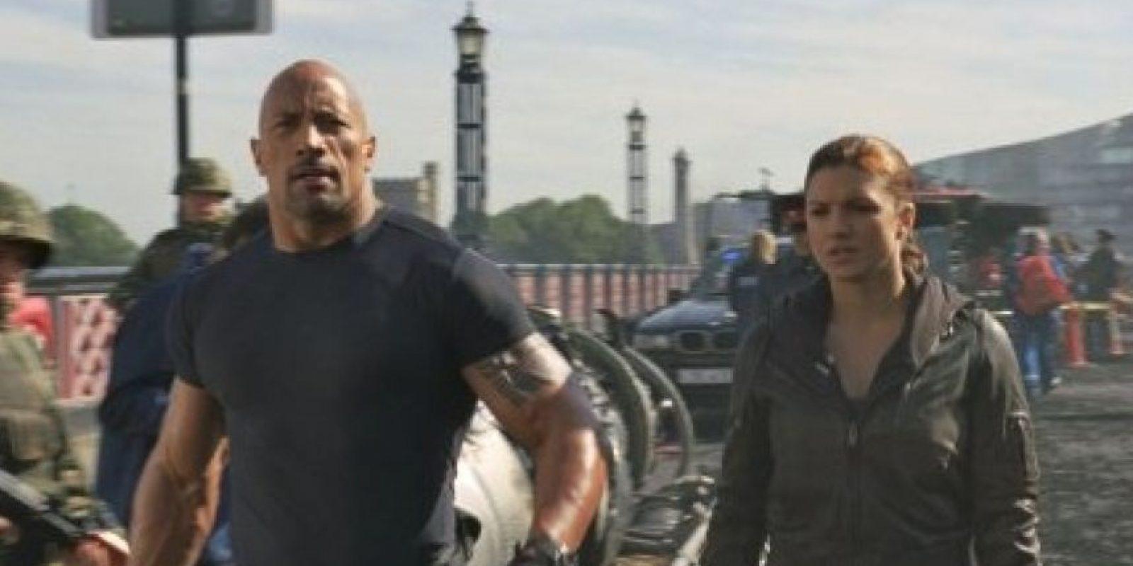 Interpretó al agente Luke Hobbs, quien tiene por misión capturar y encarcelar a Toretto y toda su mafia Foto:IMDB / Universal Studios