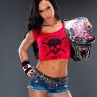 AJ Lee ha tenido tres reinados en la WWE Foto:Twitter: @WWEAJLee