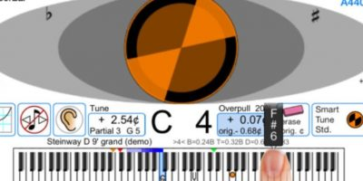 CyberTuner – 999.99 dólares. Foto: Reyburn Piano Service, Inc.