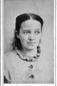 Esta mujer fue diasgnoticada con melancolía aguda o depresión, como se conoce hoy.
