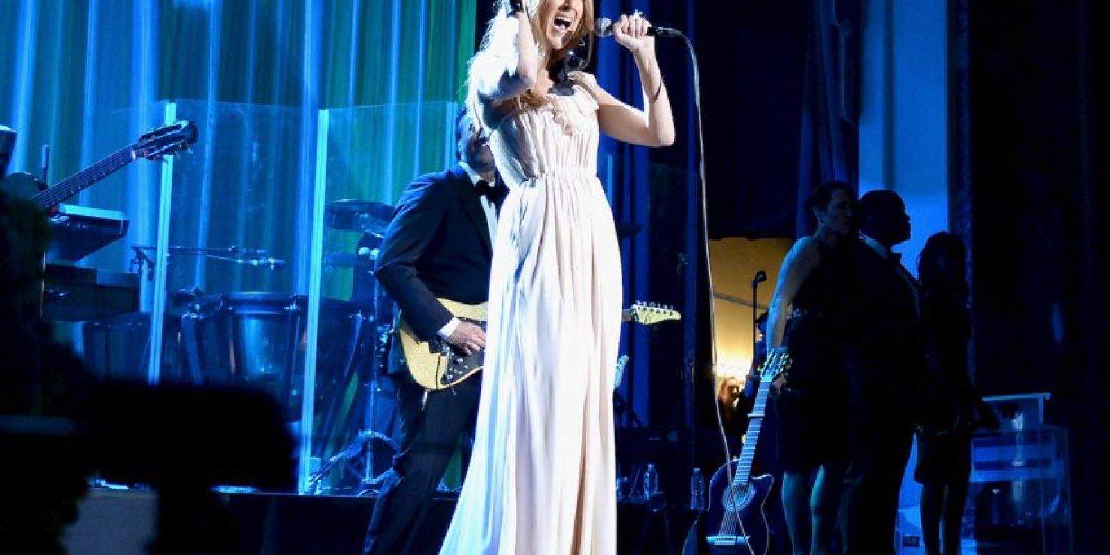 Celine Dion abandonó los escenarios en agosto de 2014 Foto:Getty