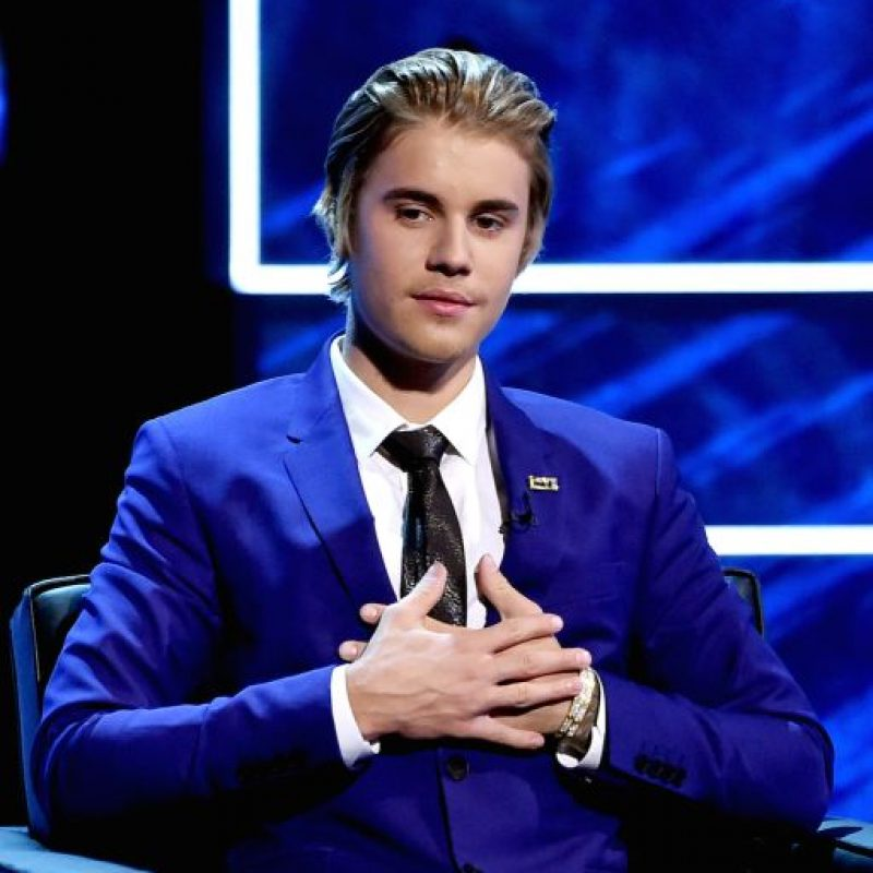 """Justin Bieber en su presentación en su """"roast"""" hecho por Comedy Central Foto:Getty"""
