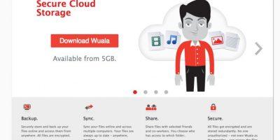 Wuala les permite hasta 5GB gratis. Foto:wuala.com