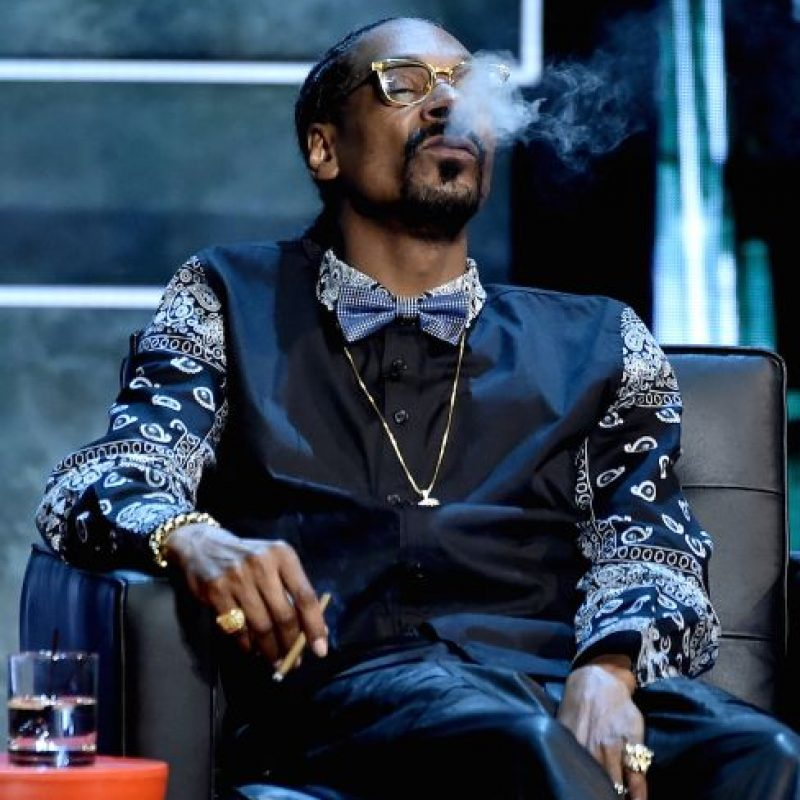 Quizás Snoop Dogg fue quien lo humilló de la peor forma. Foto:Getty