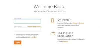 Spideroak es un sitio que donde pueden almacenar documentos con sólo abrir una cuenta. Foto:spideroak.com
