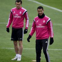 Entonces, las cámaras captaron al portugués lanzando una serie de groserías al aire libre… ¿O eran para Bale? Foto:AFP